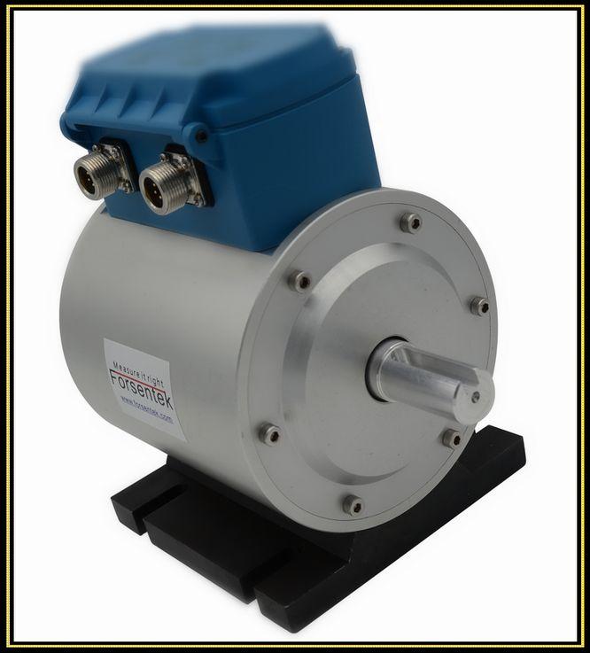 Rotary torque transducer rotating torque measurement for Measure torque of a motor