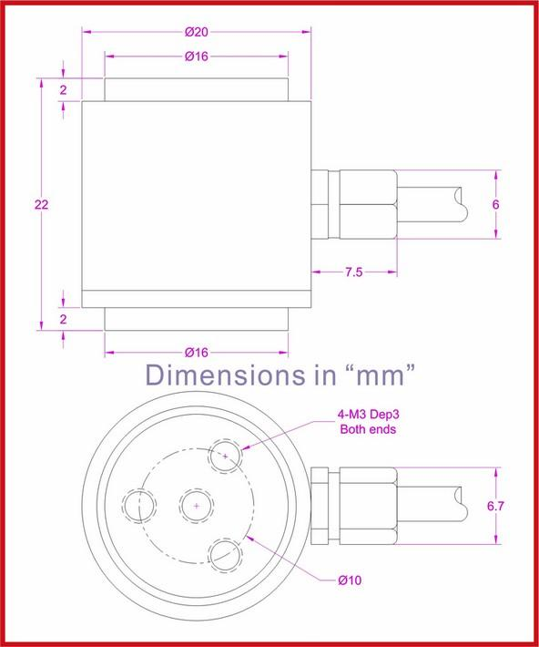flange mounted load cell