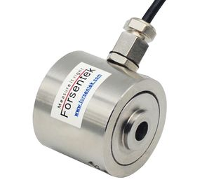 China Donut load cell 500kg 1000kg 2000kg through hole load cell customizable supplier