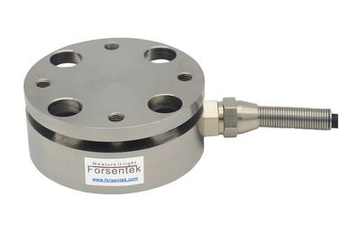 China Flange type load cell for tension compression force measurement supplier