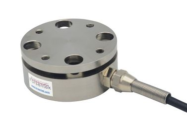 China Press force load cell with flange mounting Press force sensor supplier