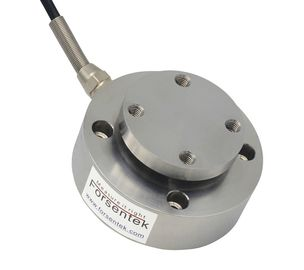 China Flange to flange compression load cell 0-60kN Press force measurement distributor